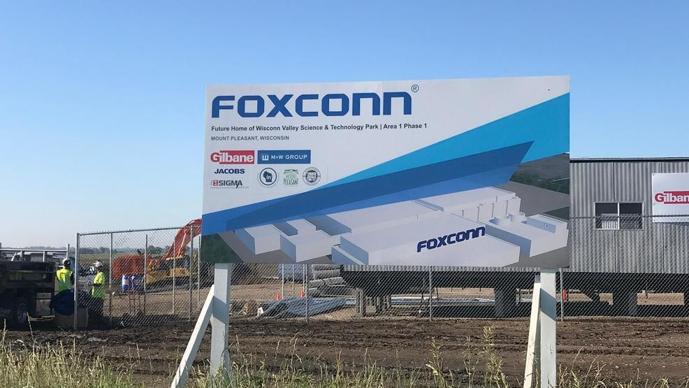 Foxconn Pledges To Build Manufacturing Plant This Year